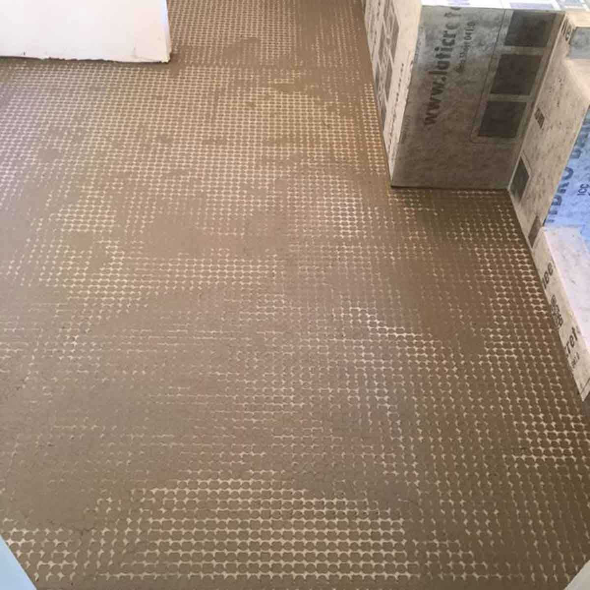 Strata Mat Uncoupling grout