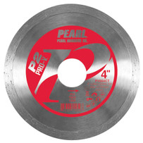 pearl pro-v wet/dry 4in diamond blade