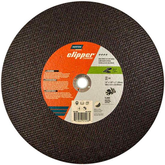 Norton Clipper cut-off saw abrasive wheels for concrete