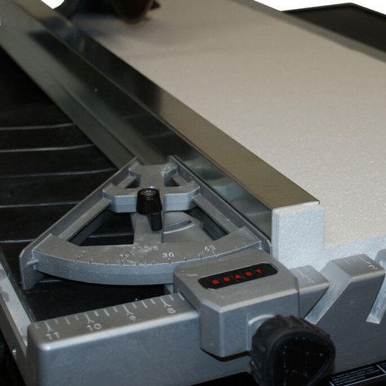 Rodkat Extension on Beast Tile Saw