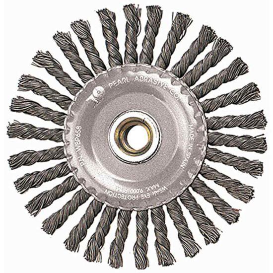Pearl Abrasive 4 inch Knot Wheel Stringer Bead Twist
