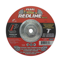 Pearl Abrasive 7 inch Redline Depressed Center Grinding Wheel