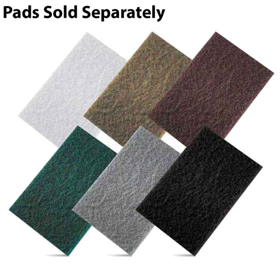 Pearl Abrasive 6 inch x 9 inch Ultra Prep Non-Woven Hand Pads