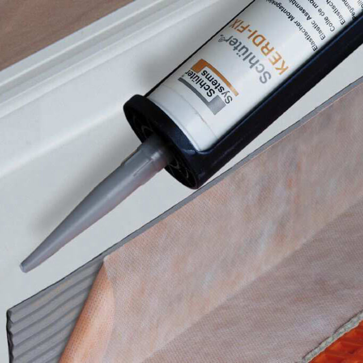 Schluter Kerdi Fix Caulk grey