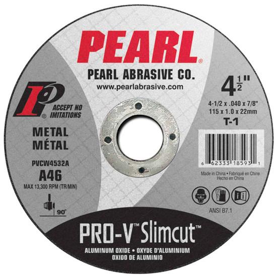 Pearl Abrasive Pro-V cutt off wheel