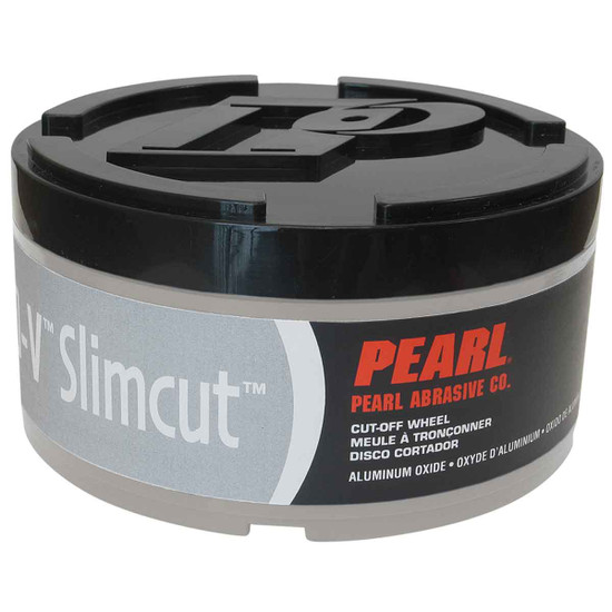 Pearl Abrasive Slim Cut Pro V Aluminum Oxide Cut Off Wheel container