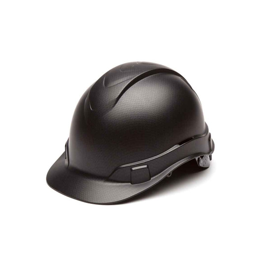 Pyramex Ridgeline Black Graphite Hard Hat