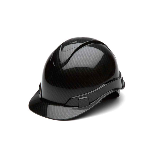 Pyramex Ridgeline Shiny Black Hard Hat