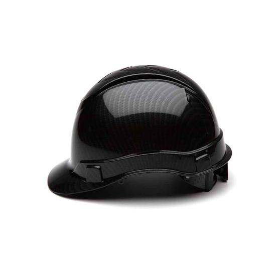 5526 Pyramex Ridgeline Black Graphite Hard Hat