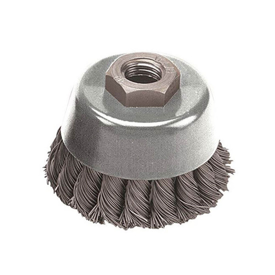 Pearl Abrasive Tempered Wire Abrasive Knot Cup