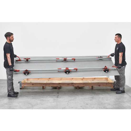 Transport large thin panel tile with EASY-MOVE kit