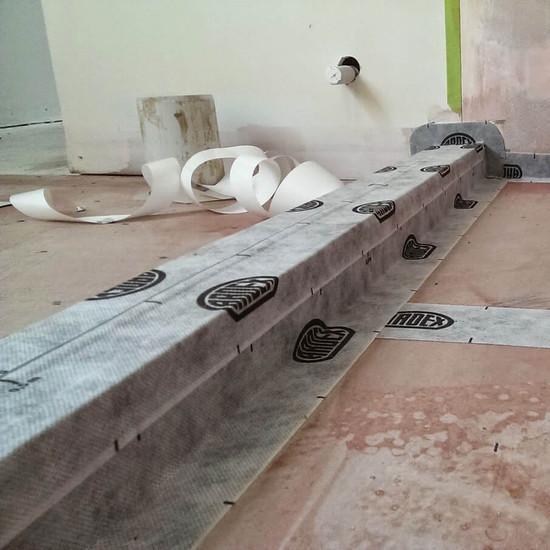 Ardex Waterproof Curb Seam Tape
