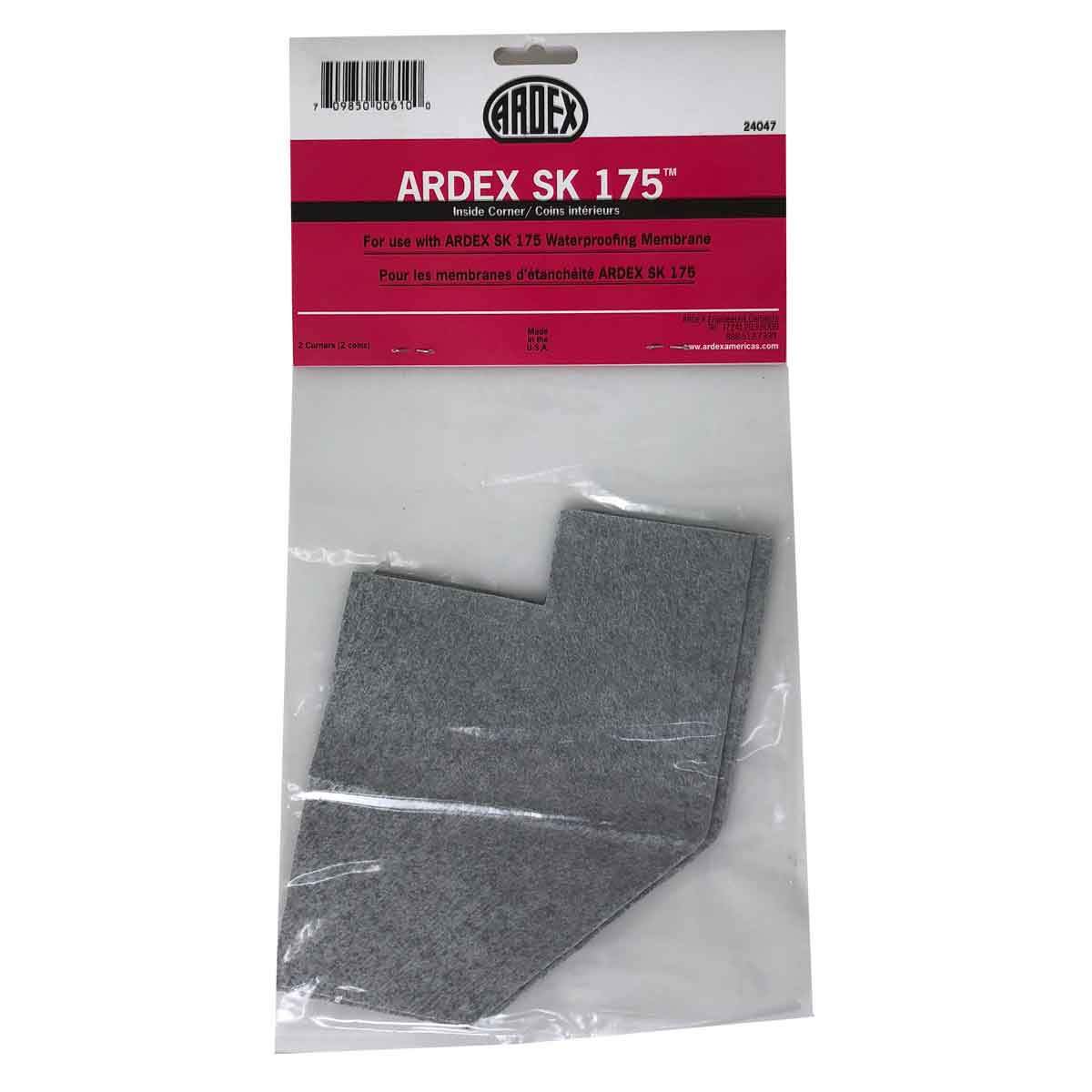 Ardex Waterproofing Inside Corner