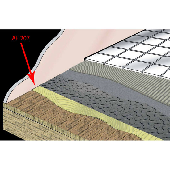 Rapid Set Uncoupling Membrane ardex
