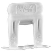 "Perfect Level Master 1mm-1/32"" Size M Tile Thickness Spacers"
