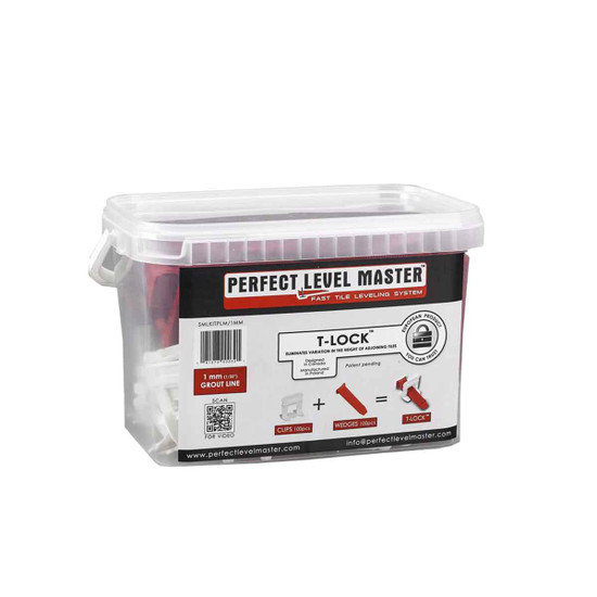 Perfect Level Master Small & Large 1/32 in. floor tile leveling