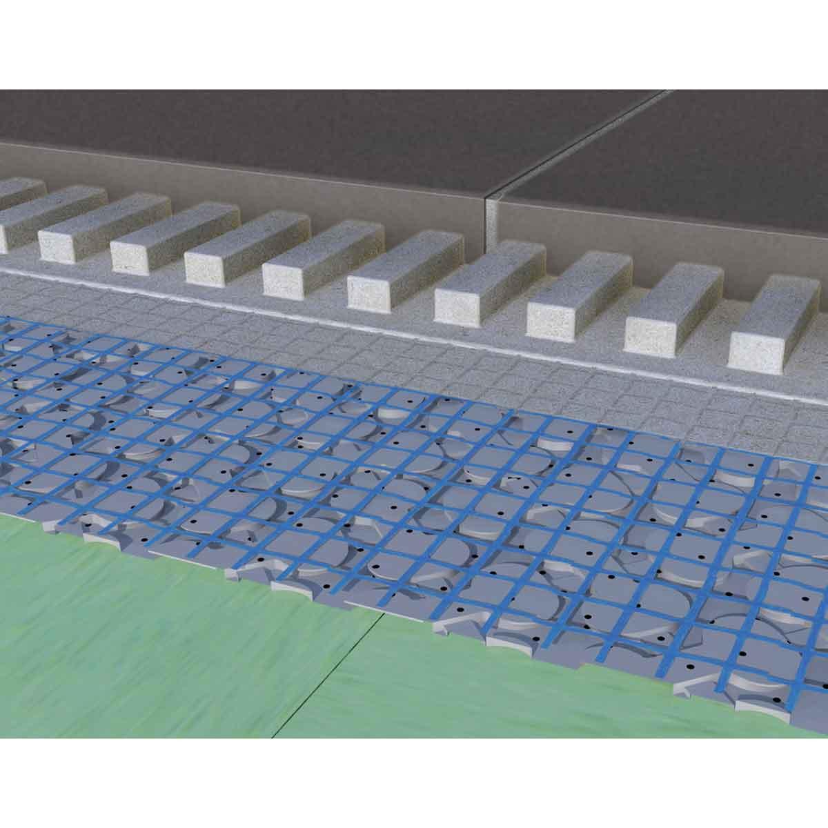 Ardex UI 720 Flexbone Membrane Tile Installation