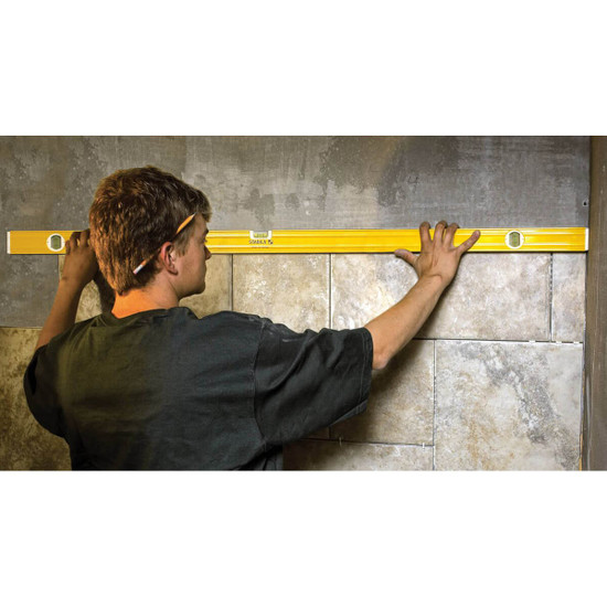 Shower Tile Layout with Stabila Levels