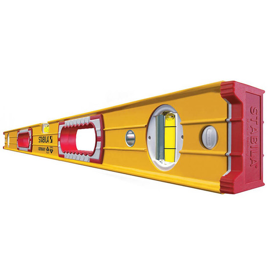 Stabila Box Beam Level with Hand Grips