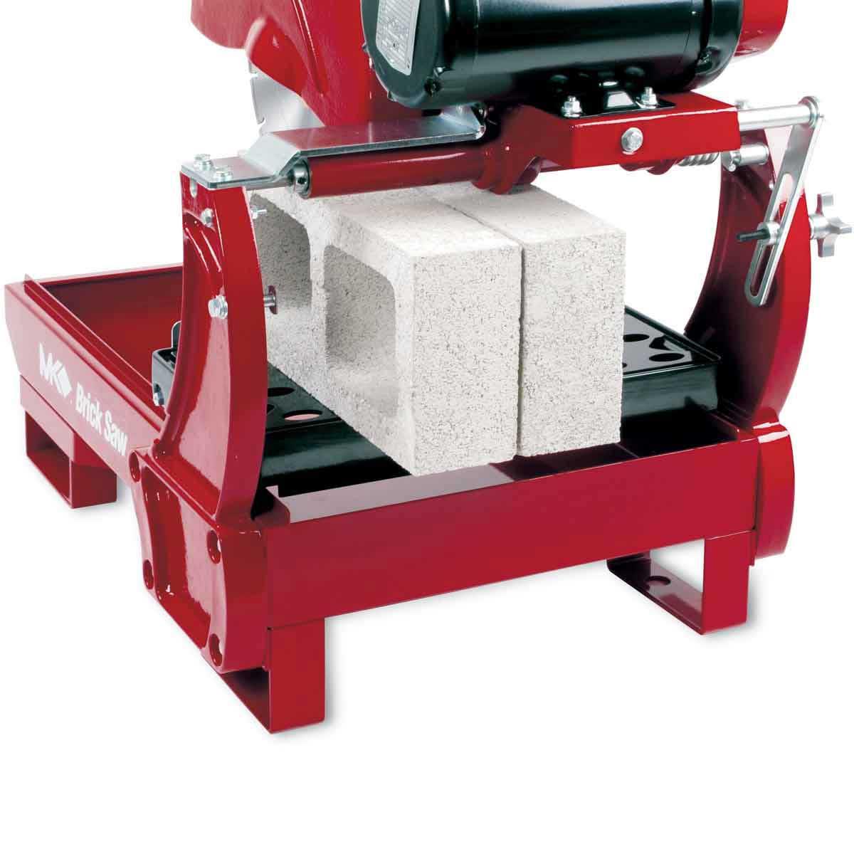 cutting with mk 14in block saw