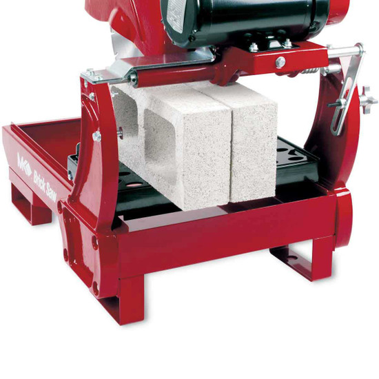 MK-2000 Series Masonry Saw Cutting Cinder Block