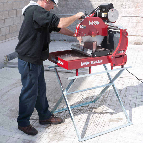 mk diamond masonry saw 14in