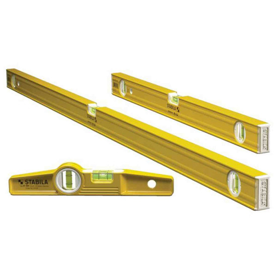 Stabila Magnetic Torpedo Levels 3 Piece Pro-Set