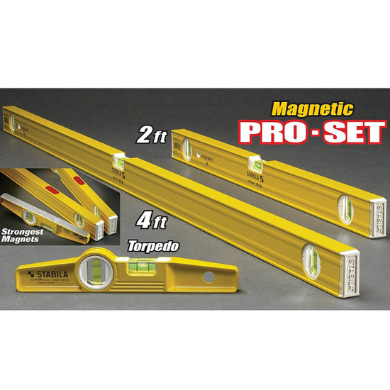 Stabila Magnetic Level Pro Set