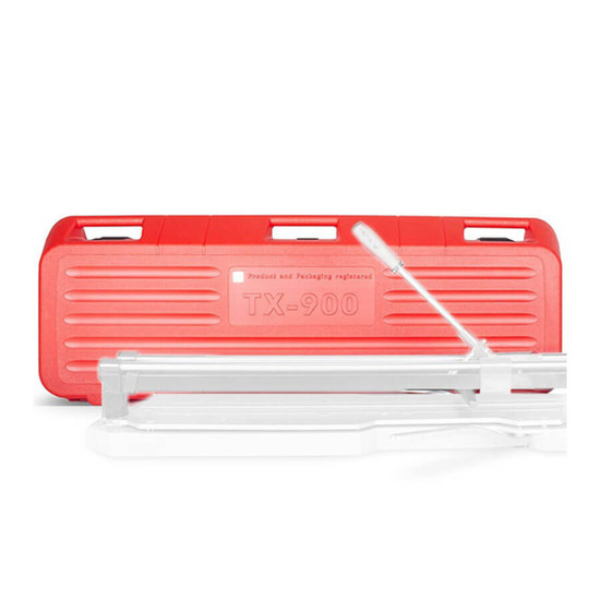 rubi tx 900 tile cutter case