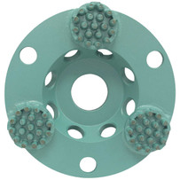 PB04G 4 inch Pearl P4 Cup Wheel