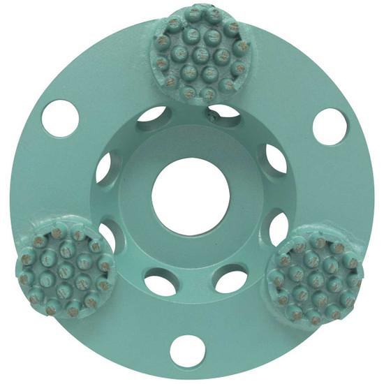 Pearl P4 4 inch Concrete & Natural Stone Button Cup Wheel