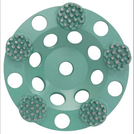 Pearl P4 5 inch Concrete & Natural Stone Button Cup Wheel