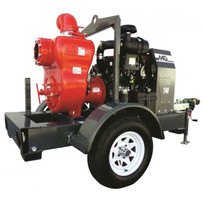 MQ600H Multiquip 6 inch Trash Pump