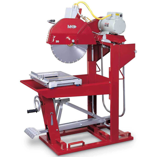 mk 5005 5hp electric 20in masonry saw