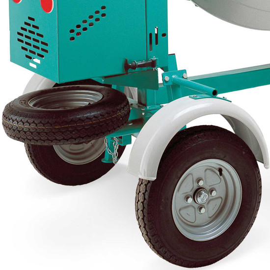Imer Workman Concrete Mixer wheels