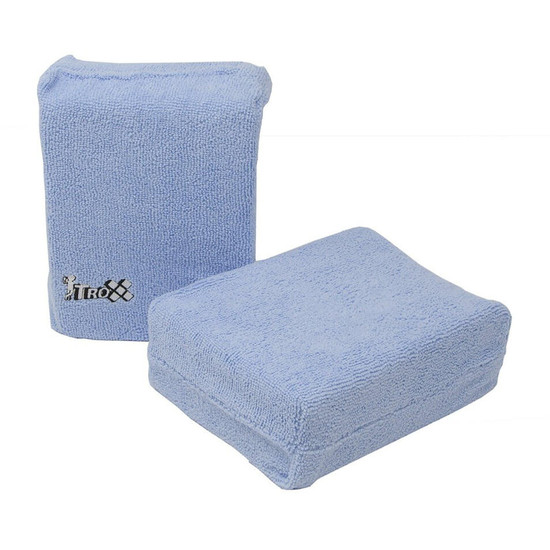 Ideal for haze removal after grout clean up As a general cleaning sponge it is gentle but still has good cleaning and wiping ability