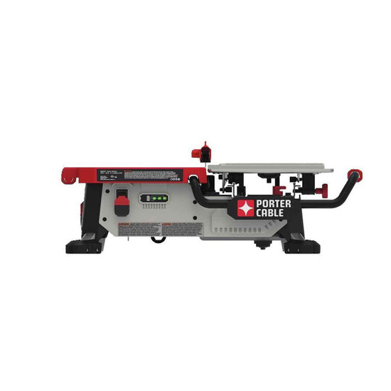 porter cable table tile saw side