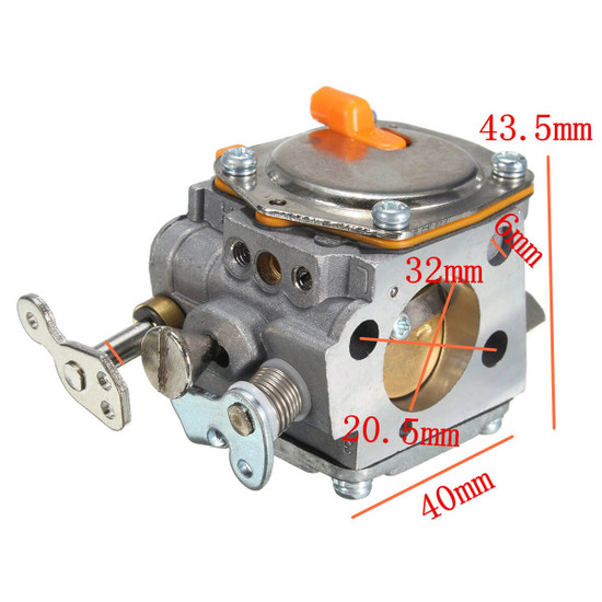 Husqvarna Carburetor for Cut-Off Saws Dimensions