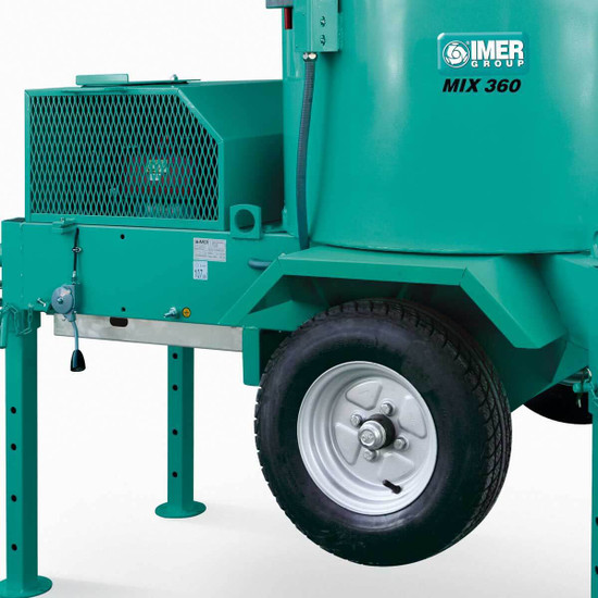Imer Mortarman 360 Towable Mixer