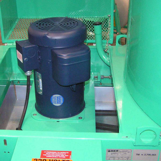 Imer Mortarman 360 Mixer gears
