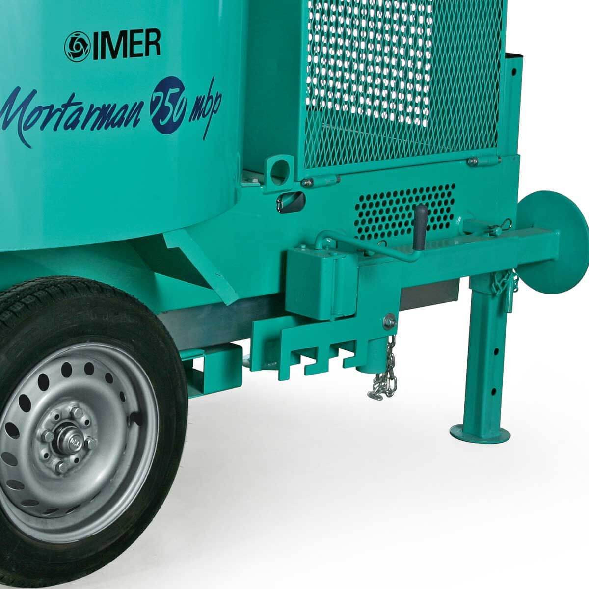 Imer Mortarman front outriggers
