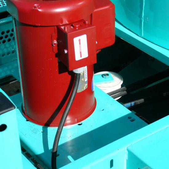 Imer Mortarman 750 Series Mixer electric motor vertical shaft mixer