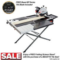 Lackmond Beast10 Tile Wet Saw w/ free blade