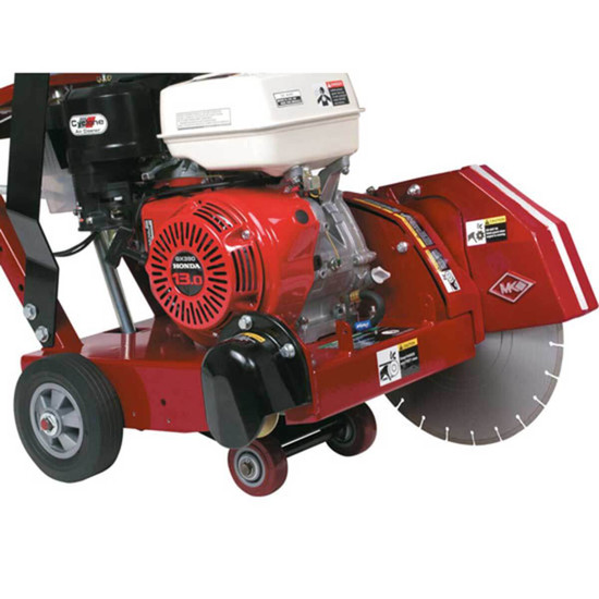 MK-1600 Concrete Saw with Honda GX390 motor