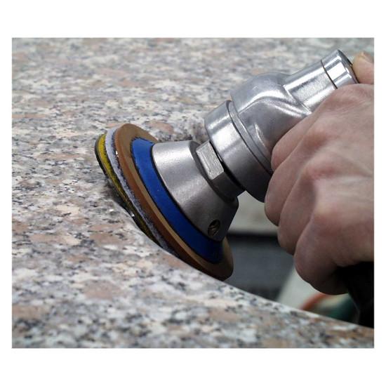 Alpha 4 inch Ceramica Diamond Stone Polishing Pad