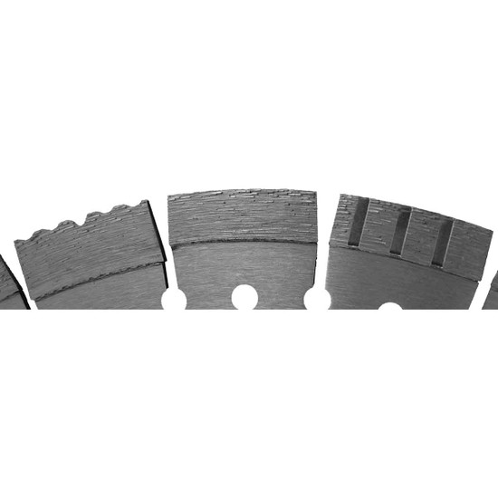 Diteq Guardian Concrete and Asphalt Diamond Blade laser welded segments