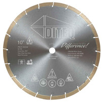 Diteq T-42 Curly Que Porcelain Tile saw Blade