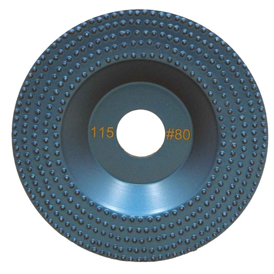 DITEQ 5 inch Vacuum Brazed Spike Disc - 80 Grit