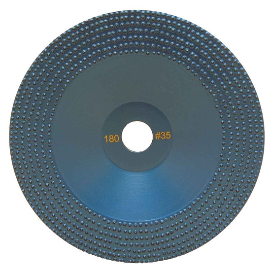 DITEQ 7 inch Vacuum Brazed Spike Disc - 35 Grit