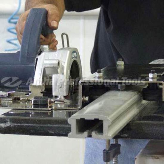 Alpha Tools ESC-125 Guide Rail Cuts Stone